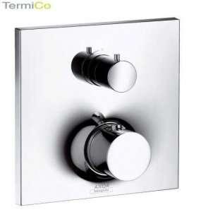 HANSGROHE  Axor Massaud Bateria termostatowa podtynkowa z zaworem odcinającym, element zewnętrzny  18745000