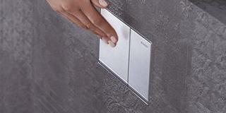 geberit omega 60 przycisk sp ukuj cy szk o umbra. Black Bedroom Furniture Sets. Home Design Ideas