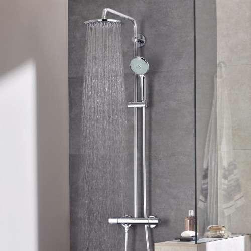 showerpipe zestaw prysznicowy 27296001 euphoria. Black Bedroom Furniture Sets. Home Design Ideas