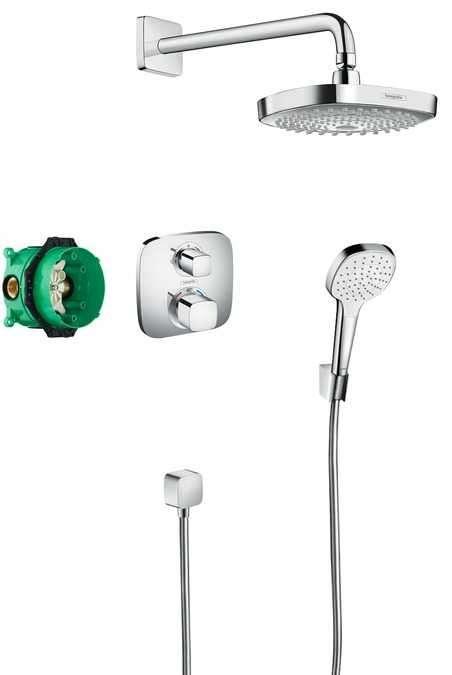 Croma Select E Podtynkowy Zestaw Prysznicowy Hansgrohe Termicotychypl