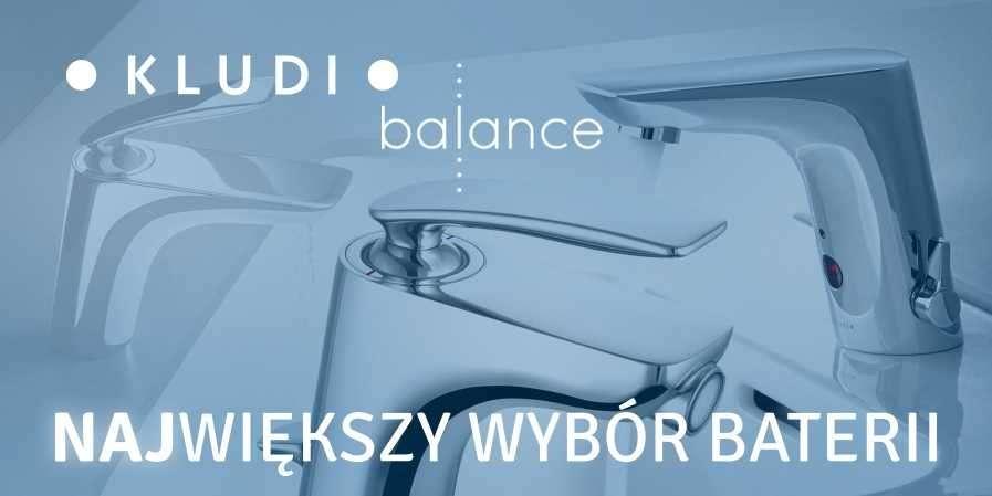 Baterie łazienkowe Kludi Balance - luksus w Twojej łazience