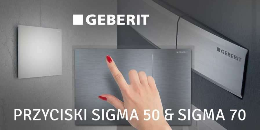 Przyciski GEBERIT Sigma