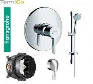 Hansgrohe Metris S zestaw prysznicowy podtynkowy