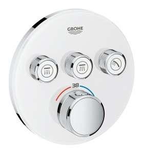 Podtynkowy termostat do 3 odbiorników Grohtherm Smartcontrol 29904LS0