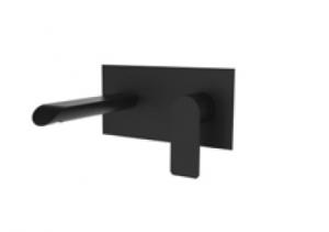 Bateria Teorema XS Black podtynkowa umywalkowa czarny mat 8X314BB-009