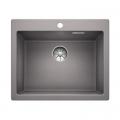 Blanco Pleon zlewozmywak granitowy Silgranit PuraDur 61,5x51 cm alumetalik 521681