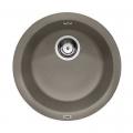 Blanco Rondo zlewozmywak okrągły PuraDur II silgranit tartufo 517387