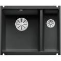 Blanco Subline 350/150-U zlew ceramiczny 56,7x45,6 PuraPlus lewy czarny 523747