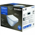 Duravit DuraStyle miska WC wisząca z deską wolnoopadającą 45520900A1 (255209,006379)