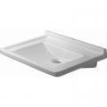 Duravit Starck 3 Vital Med umywalka 70x54,5 cm ścienna prostokątna biała 0312700000