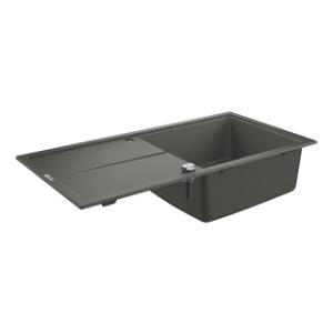 Grohe 31641AT0 zlew kuchenny 100x50 szary granit z ociekaczem