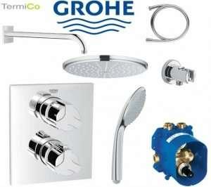 Grohe Allure Rainshower zestaw prysznicowy 210