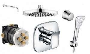 Kludi Ambienta kompletny podtynkowy zestaw prysznicowy