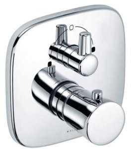 Kludi Ambienta termostatyczna podtynkowa bateria wannowa