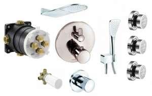 Kludi Balance termostatyczny zestaw do 3 odbiorników