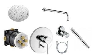 Kludi Bozz 300 economy shower set