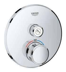 Podtynkowa termostatyczna bateria prysznicowa Grohe 29118000