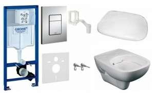 Podtynkowy zestaw wc Grohe 5w1 z miską Style Rimfree