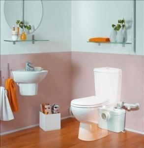 Pompa do wc i umywalki SFA Sanitop Silence