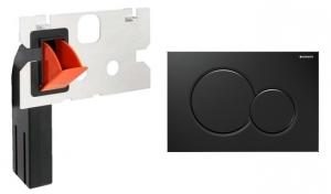 Przycisk Geberit Sigma01 115770DW5 czarny + kostkarka
