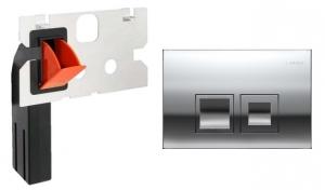Przycisk wc Geberit Delta50 chrom połysk + kostkarka