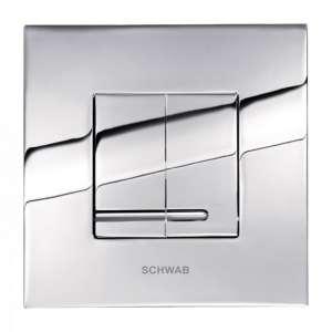 Schwab Arte Duo chromowany przycisk do wc 4060415651