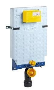 Schwab Set Wc 189 Block spłuczka wc do wmurowania