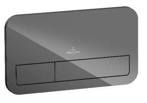 Villeroy & Boch ViConnect przycisk spłukujący szkło szare 922400RA