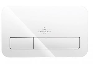 Villeroy & Boch ViConnect przycisk spłukujący szkło białe 922400RE