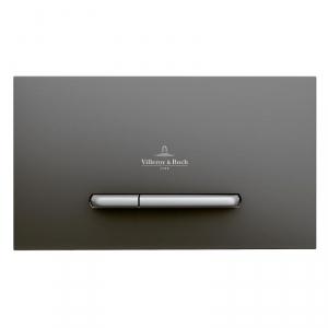 Villeroy & Boch ViConnect E300 przycisk spłukujący do WC antracytowy mat 922169D8