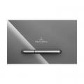 Villeroy & Boch ViConnect M300 przycisk spłukujący do WC szkło szare 922160RA