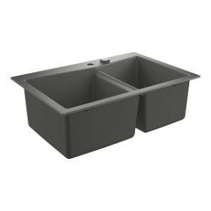 Zlew do kuchni Grohe K700 90-C 31657AT0 szary granit
