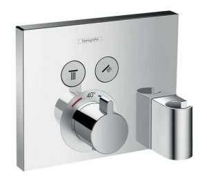 Hansgrohe Showerselect bateria termostatyczna z uchwytem i przyłączem 15765000