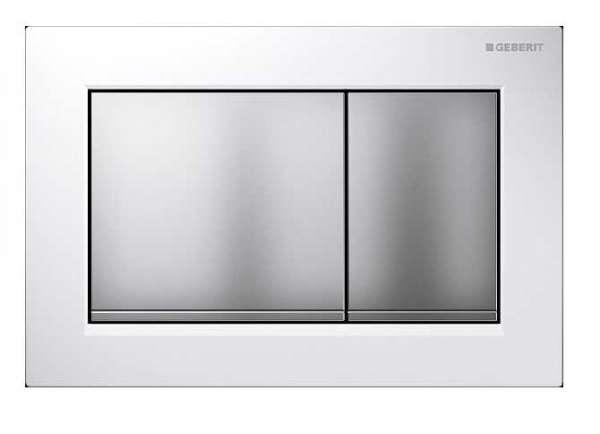 geberit omega 30 przycisk sp ukuj cy bia y chrom mat chrom mat. Black Bedroom Furniture Sets. Home Design Ideas