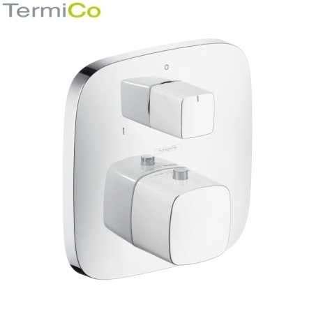 Podtynkowy termostat do obsługi 2 odbiorników Puravida 15771400.-image_Hansgrohe_15771400_1