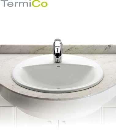 Roca Aloa ceramiczna umywalka blatowa 327865000 - wpuszczana w blat-image_Roca_A327865000_1