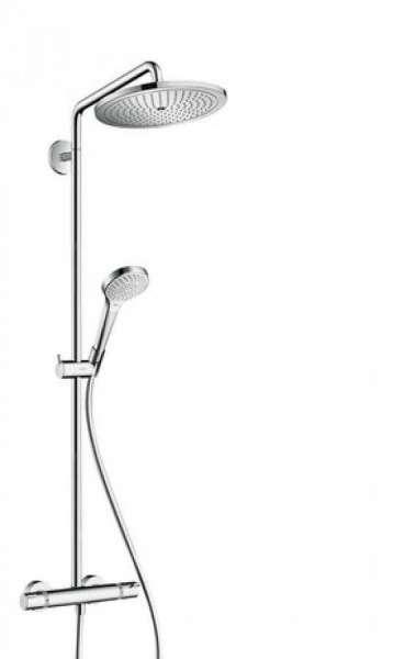 Ścienny termostatyczny zestaw Hansgrohe Showerpipe Croma280 26790000.