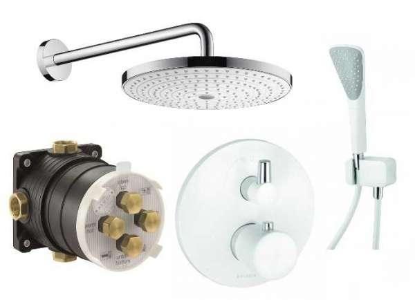 Podtynkowy pakiet termostatyczny Kludi Balance White KL/BALANCEW/SELECT-image_Hansgrohe / Kludi_KL/BALANCEW/SELECT_1
