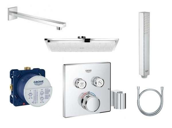 Pakiet podtynkowy Grohe Smartcontrol z deszczownicą 23cm-image_Grohe_GR/SMARTCONTROL/230K_1