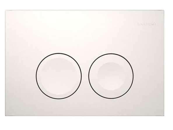 Biały przycisk do spłuczki Geberit Duofix Basic Up100 Delta 111.153.00.1