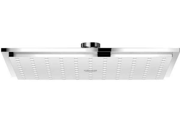 Deszczownica Grohe 27479000, kwadratowa dedykowana do kubistycznej armatury łazienkowej.