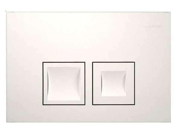 Biały przycisk do spłuczki wc Geberit Delta 111.153.00.1