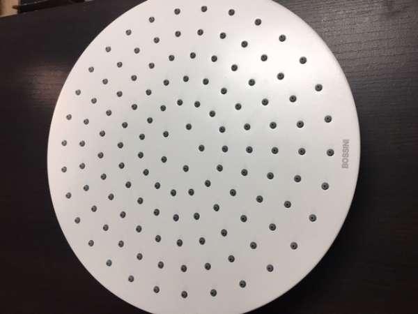 Przepiękny talerz deszczownicy Bossini Cosmo 29=80 White-image_Bossini_H30596G-045_2