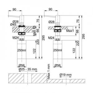 Dane techniczne dozownika Franke Comfort 119.0044.833-image_Franke_1190044833_2