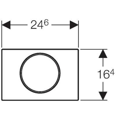 Wymiary techniczne przycisku Geberit Sigma10 -image_Geberit_115.758.sn.5_3