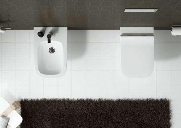 Rzut z góry ceramiki łazienkowej Koło Modo-image_Koło_L33120000_6