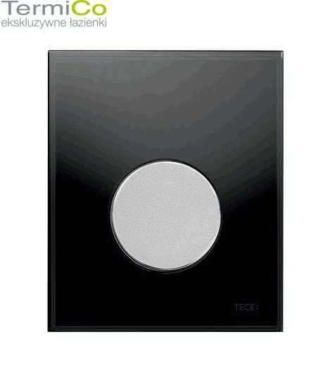 Płytka spłukująca Tece Loop wersja czarne szkło - chromowany przycisk.-image_Tece_9.242.655_3