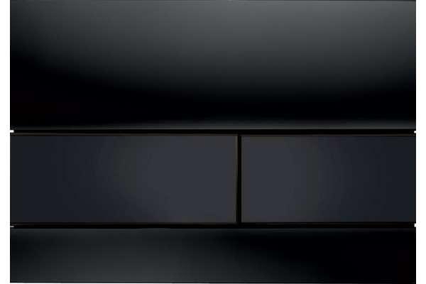 Tece square przycisk czarny szklany 9240809-image_Tece_9.240.809_1
