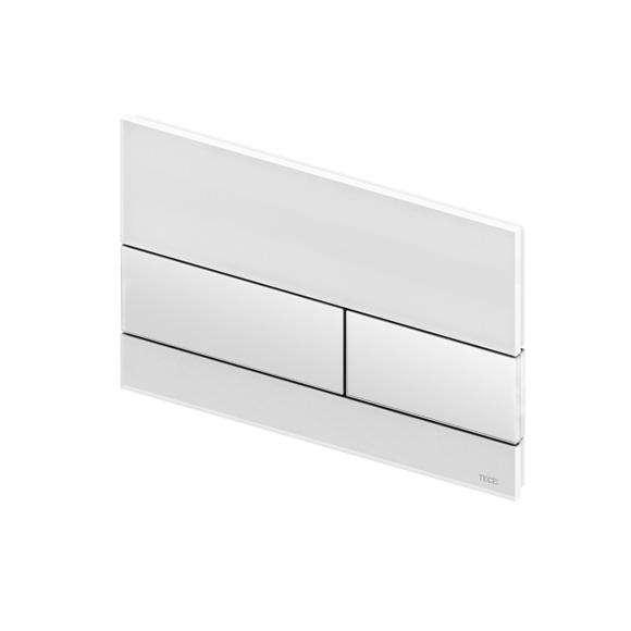Przycisk do licowania ze ścianą Tece Square 9240800 po zastosowanie specjalnej ramki montażowej.-image_Tece_9.240.800_7