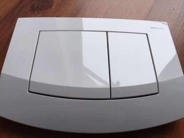 Tece Ambia plastikowy przycisk spłukujący biały antybakteryjny 9240240 do spłuczek podtynkowych Tece.-image_Tece_9.240.240_1